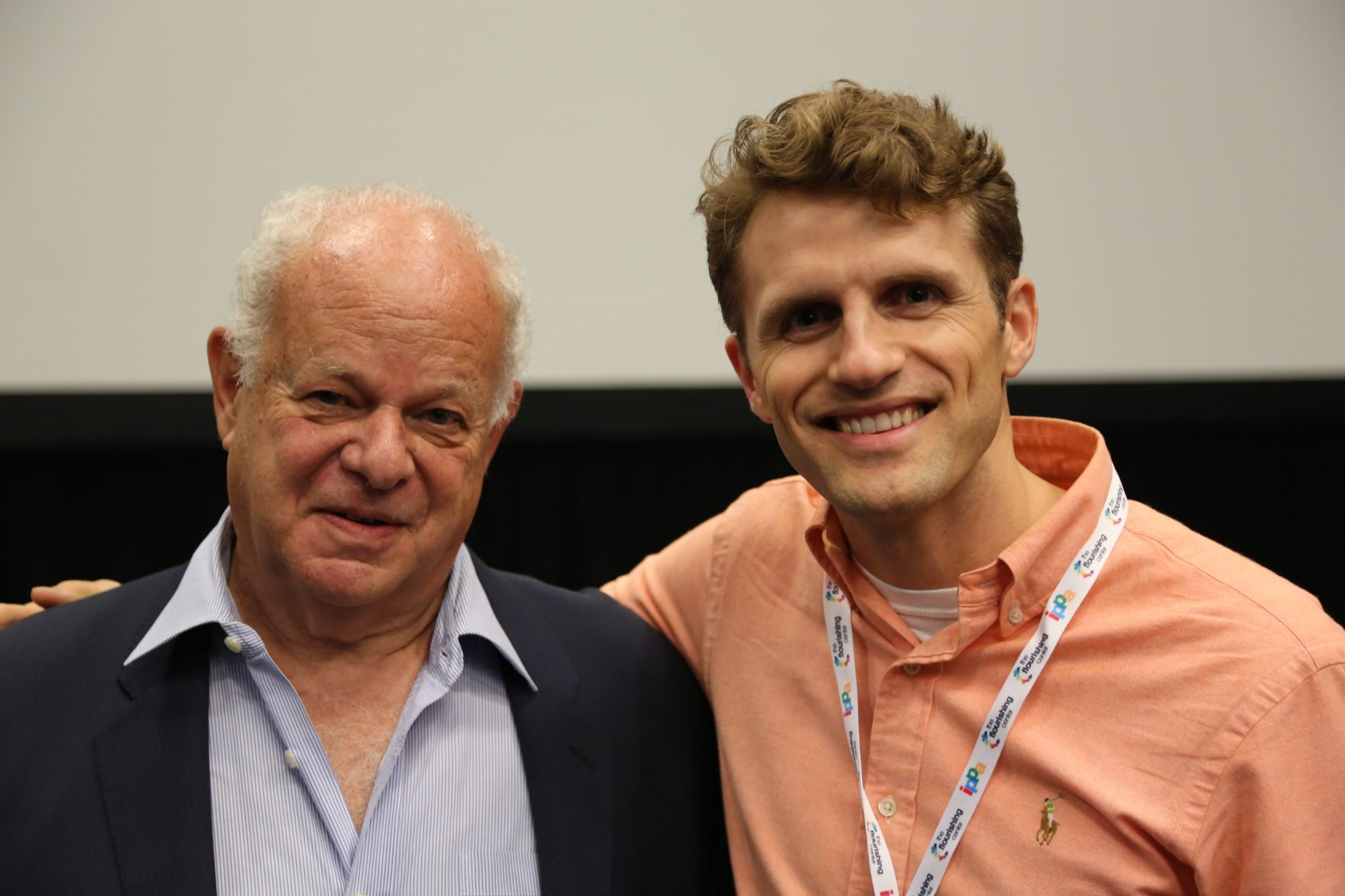 Andy Proctor with Martin Seligman