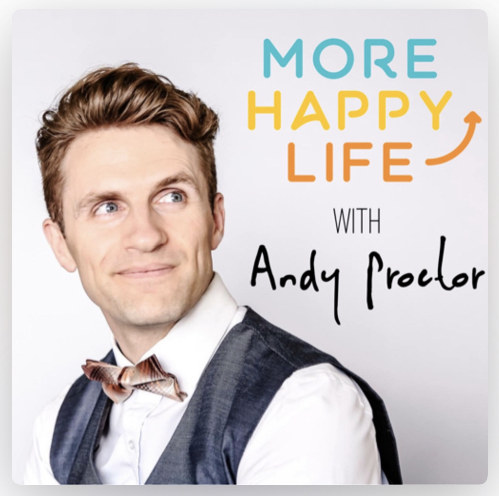 More happy Life Podcast Cover for Web